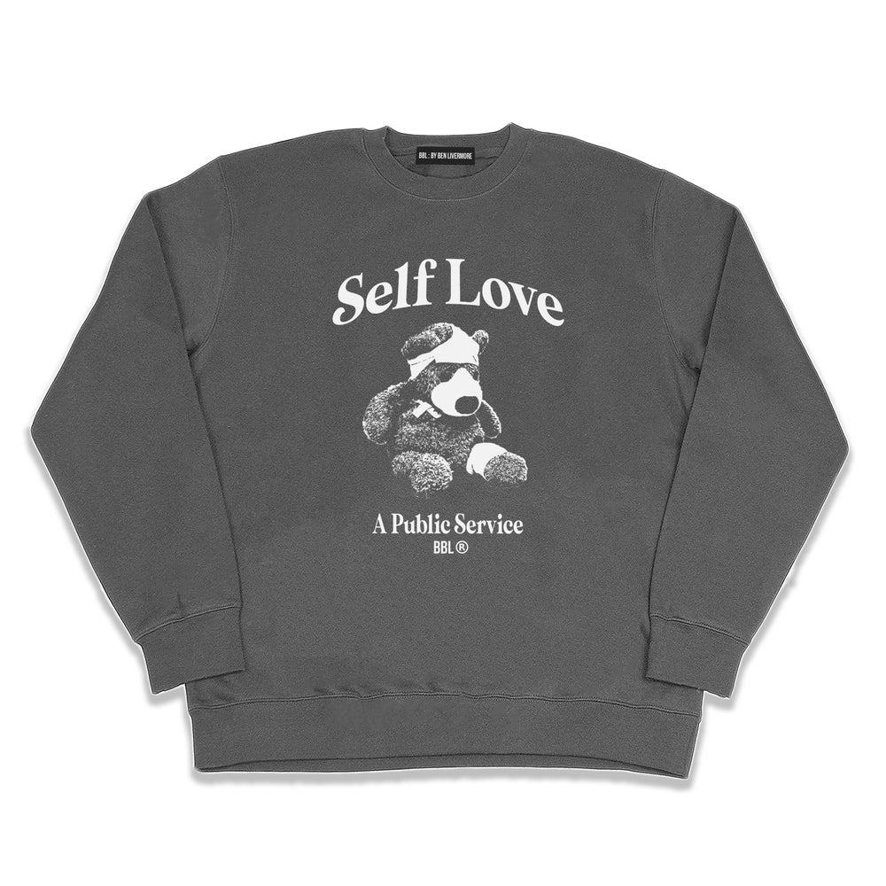 Image of Self Love Sweatshirt (Grey)