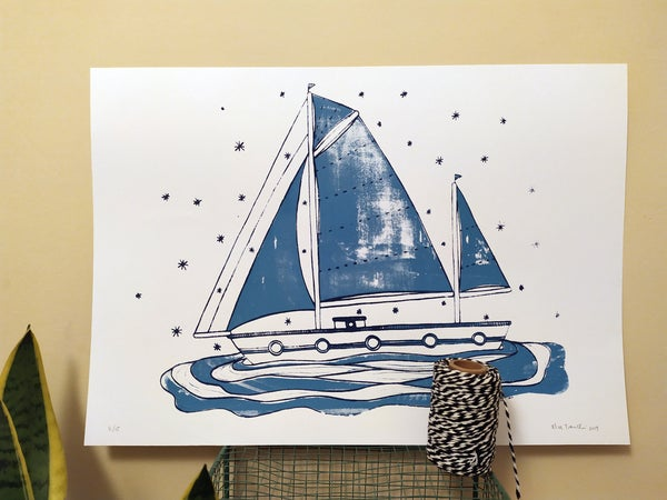Image of Sailing boat