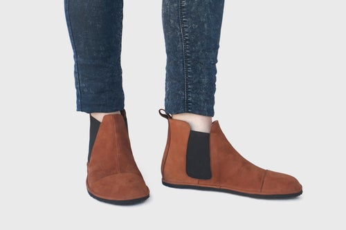 Image of Chelsea boots in Ginger Nubuck