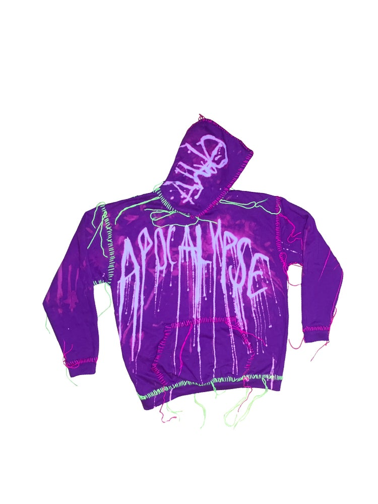 Image of A FOR APOCALYPSE HOODIE