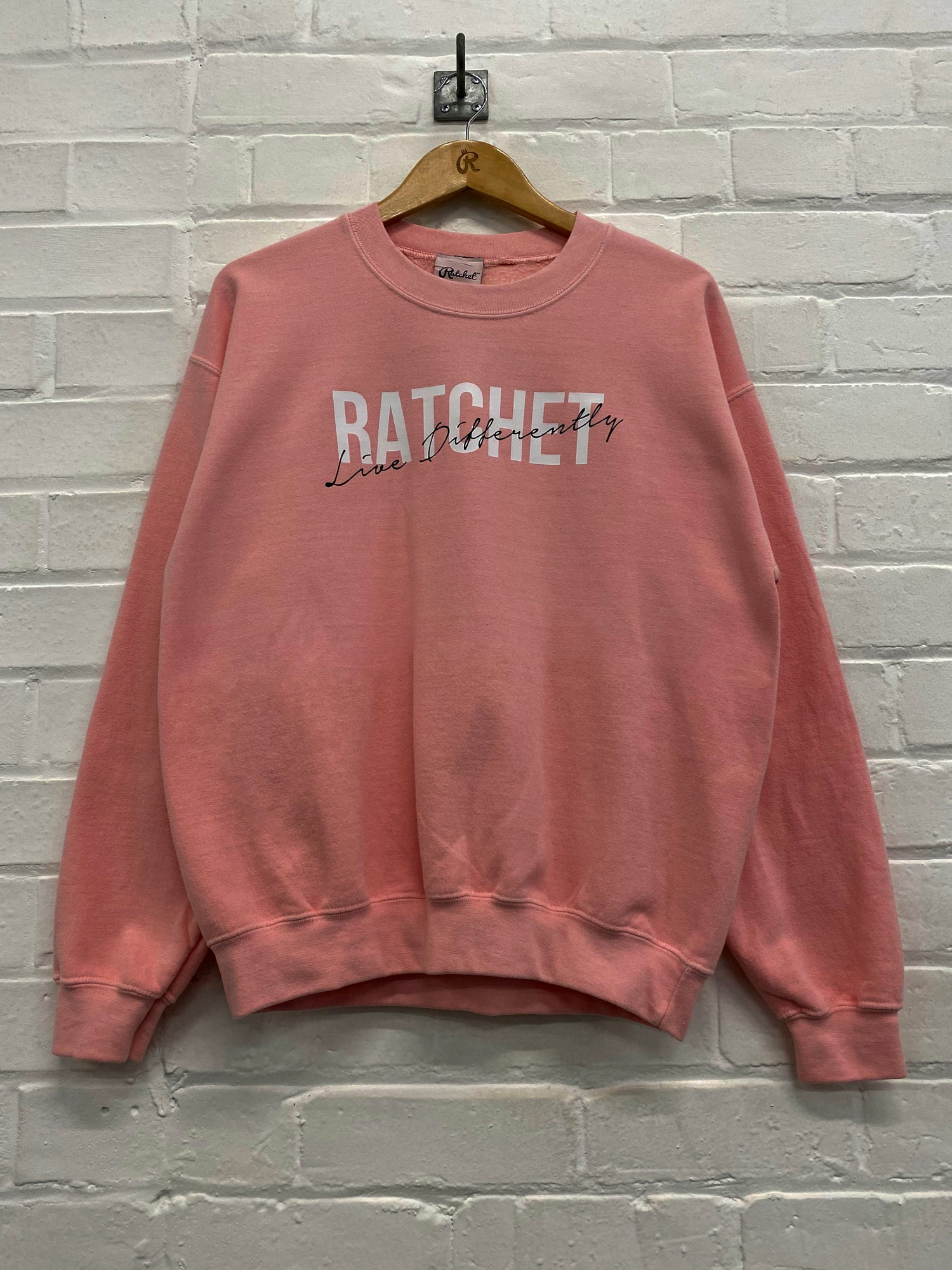 Image of Baby Pink Oversized Sweatshirt