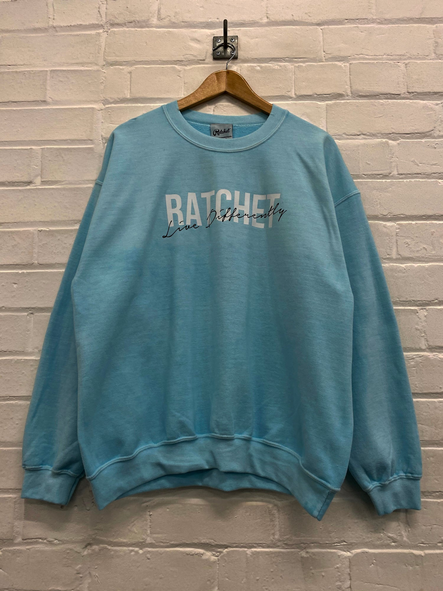 Image of Mint Oversized Sweatshirt