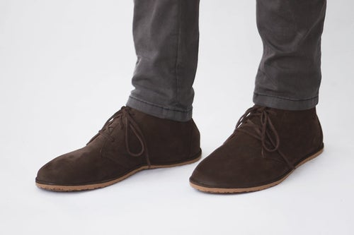 Image of Lion in Dark Brown Nubuck