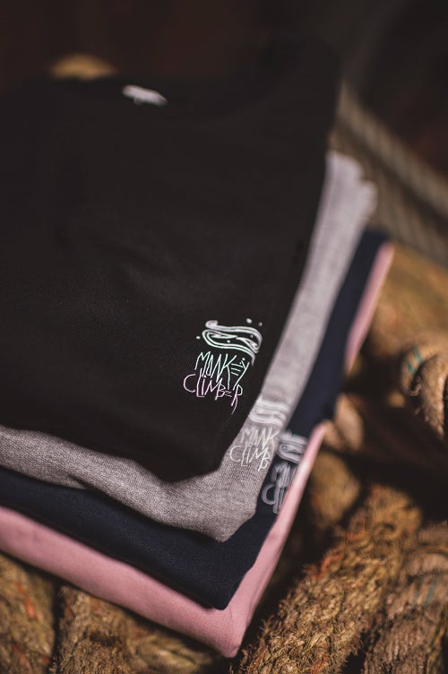 Image of Monkey Climber Off The Hook organic crewneck I Various Colours