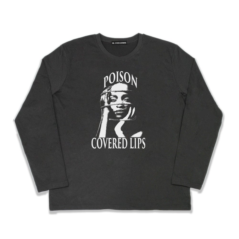 Image of Poison Long-sleeve T-shirt (Black)