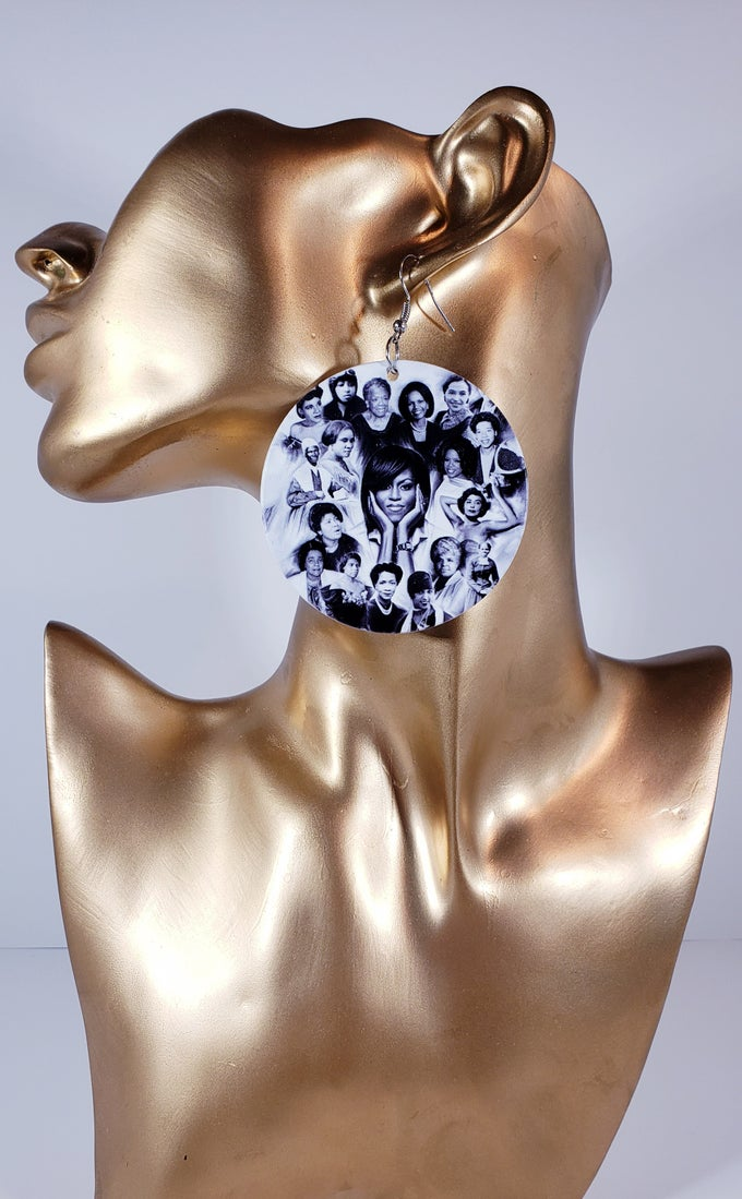 Image of Black History Earrings