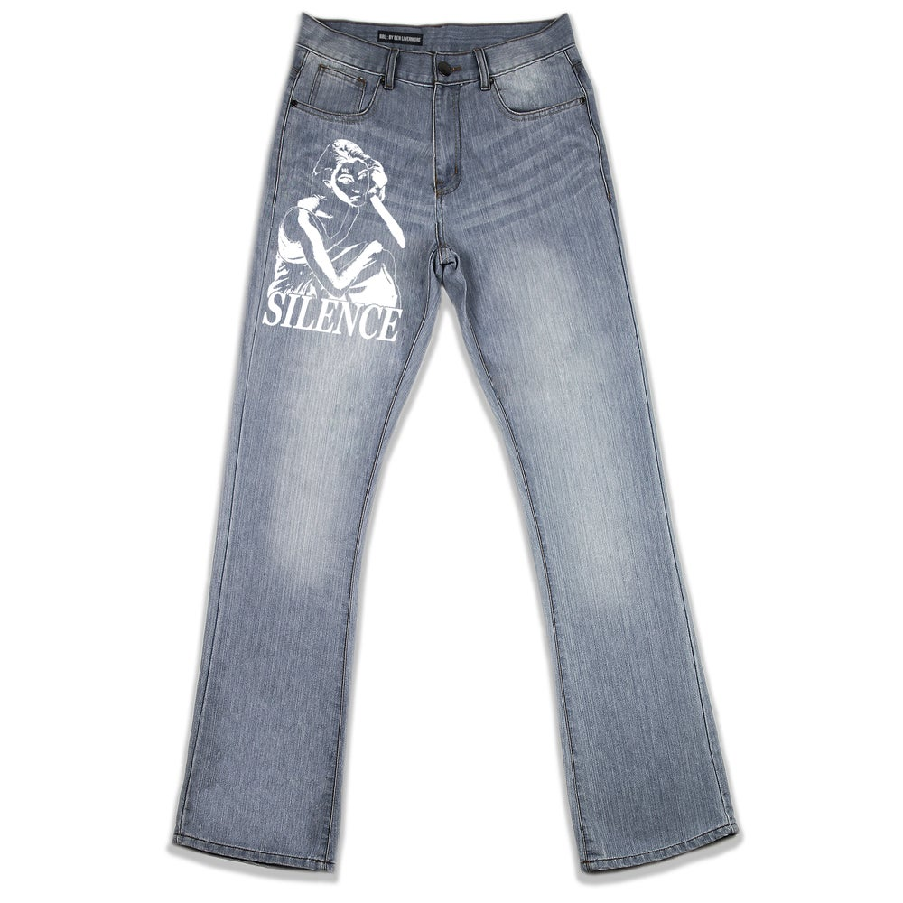 Image of The Silence Jeans (Stonewash)