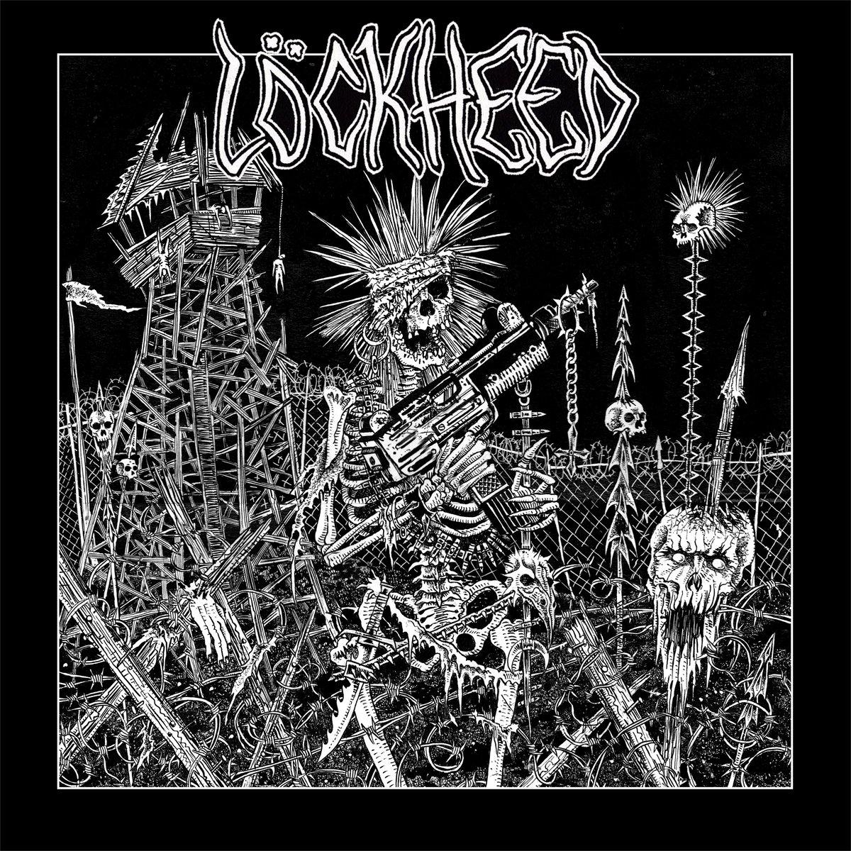 Image of Löckheed Conflict Delirium EP vinyl 7-inch record