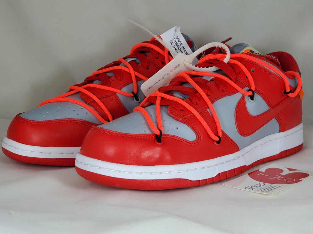 Image of Nike Dunk Low Off-White University Red