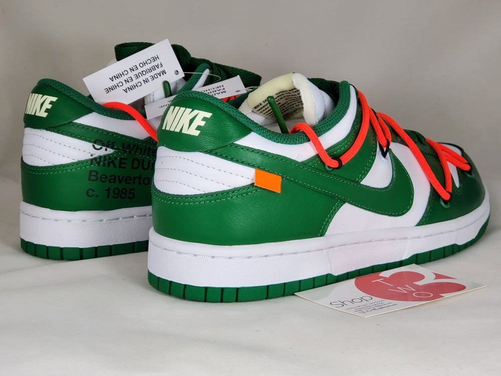 Image of Nike Dunk Low Off-White Pine Green
