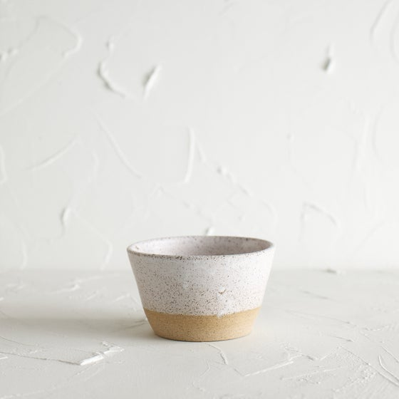 Image of Matte white vessel