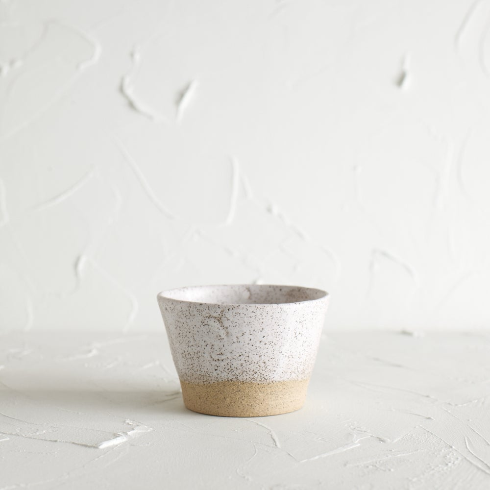 Image of Matte white vessel 2