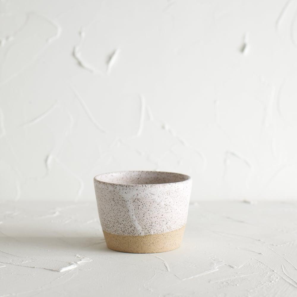 Image of Matte white vessel 3