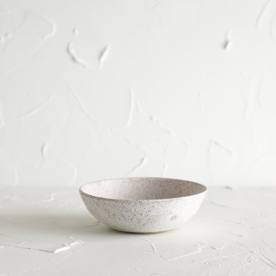 Image of Matte white bowl