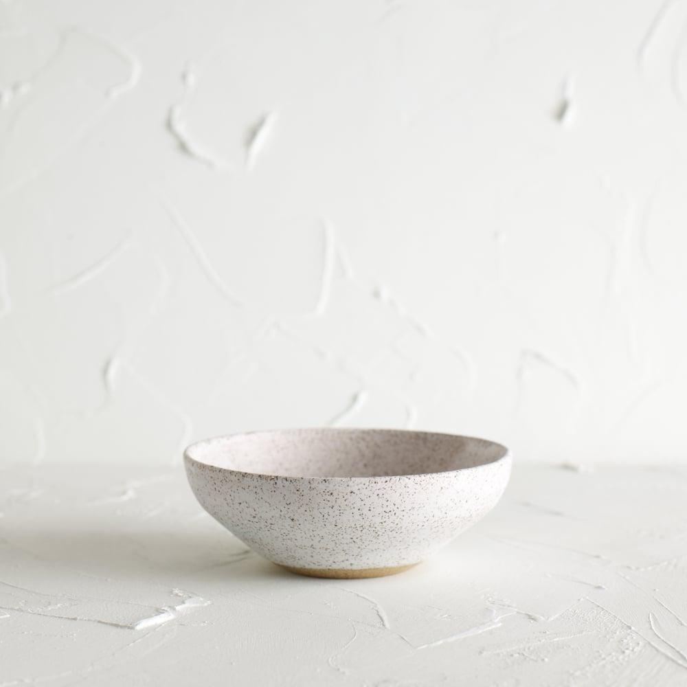 Image of Matte white bowl 3