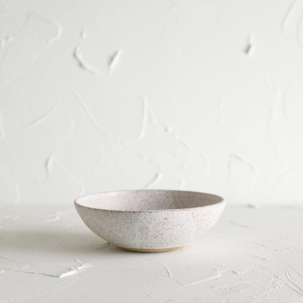 Image of Matte white bowl 4