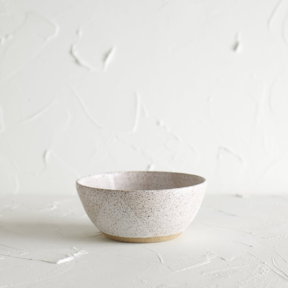 Image of Matte white bowl 5