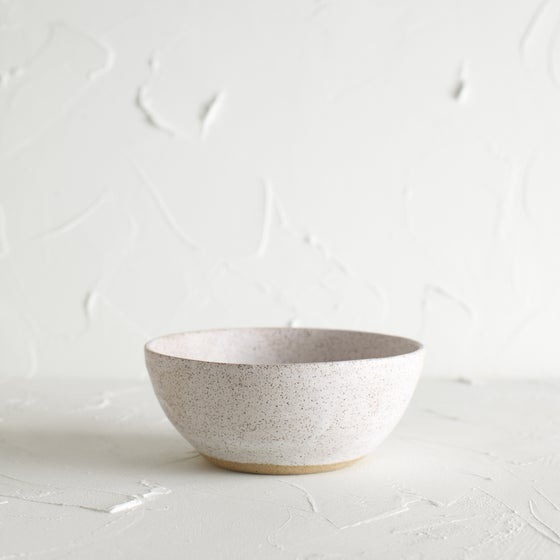Image of Matte white bowl 7
