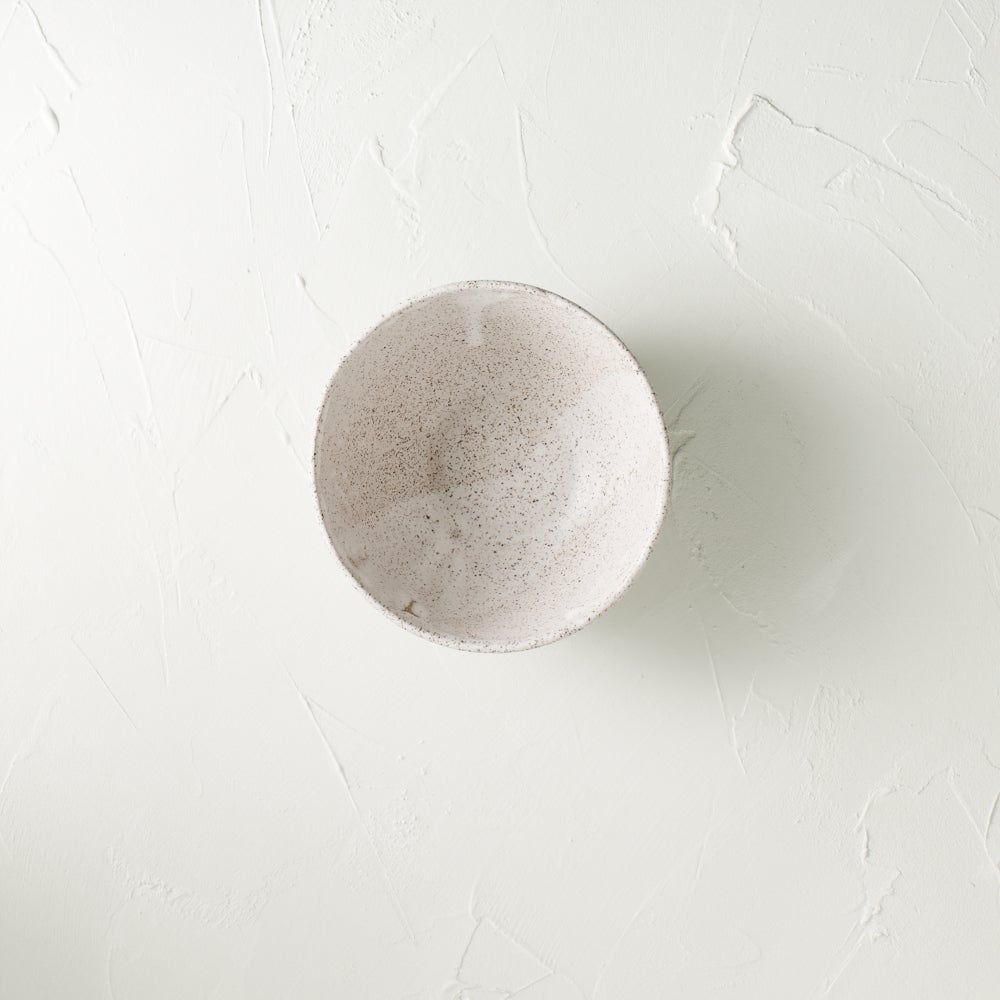 Image of Matte white bowl 2