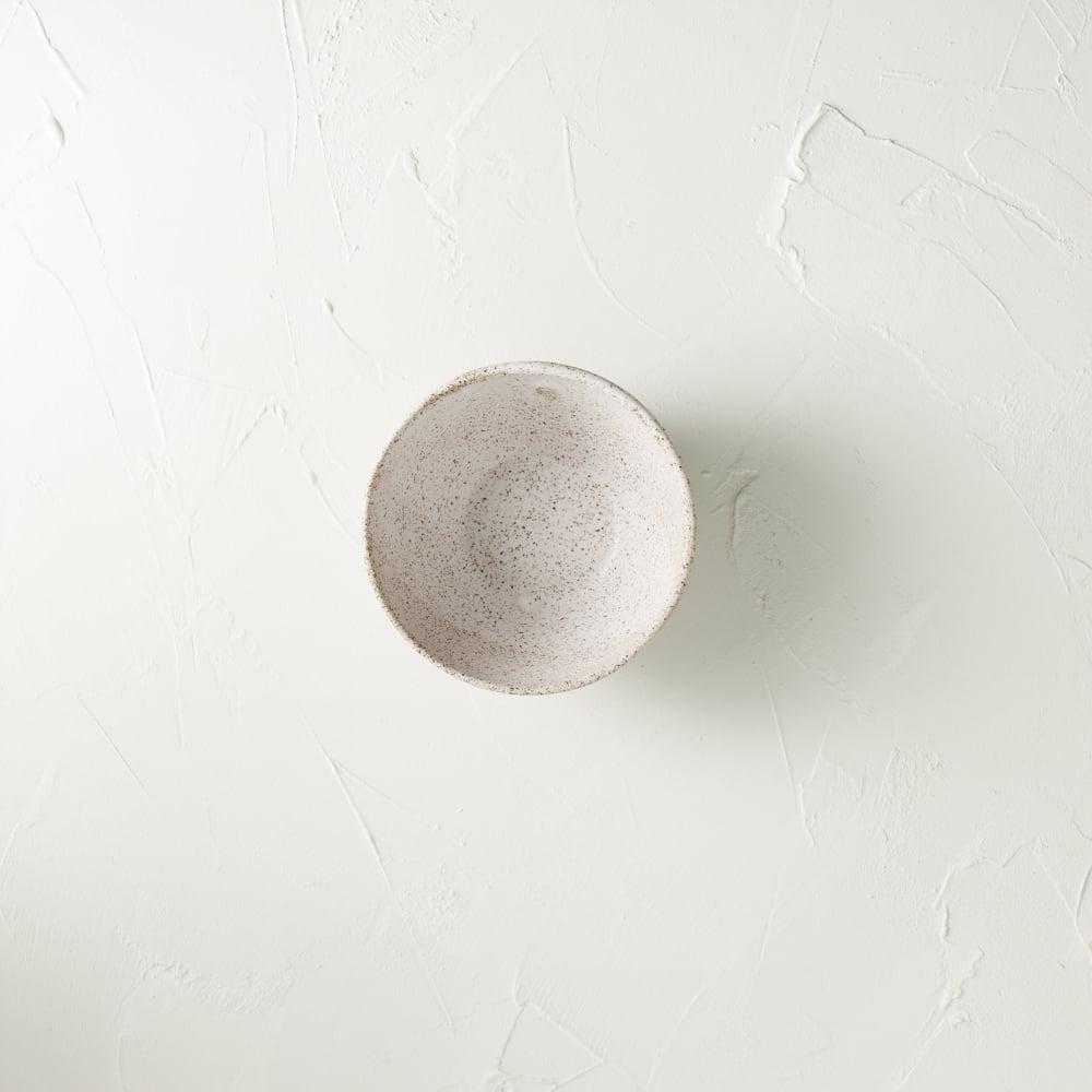 Image of Matte white vessel 6