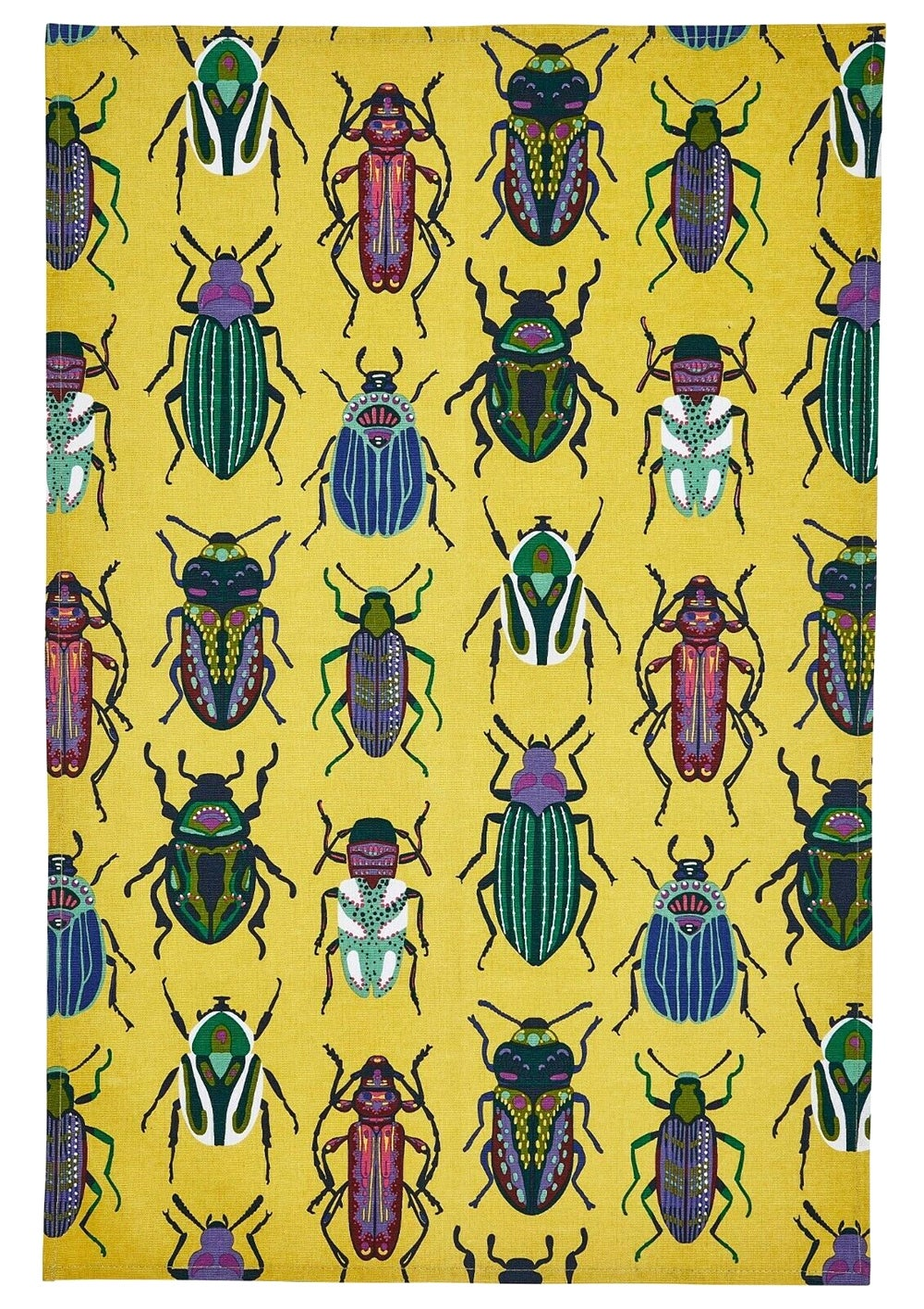 Image of Beetle Tea Towel