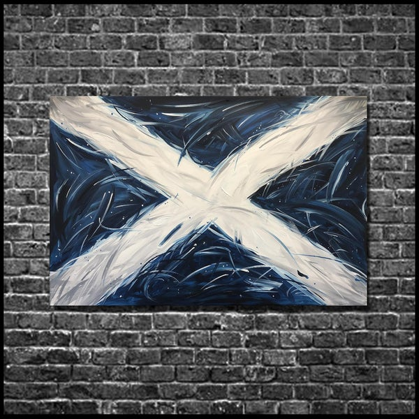 Image of SALTIRE (3x2ft canvas print)