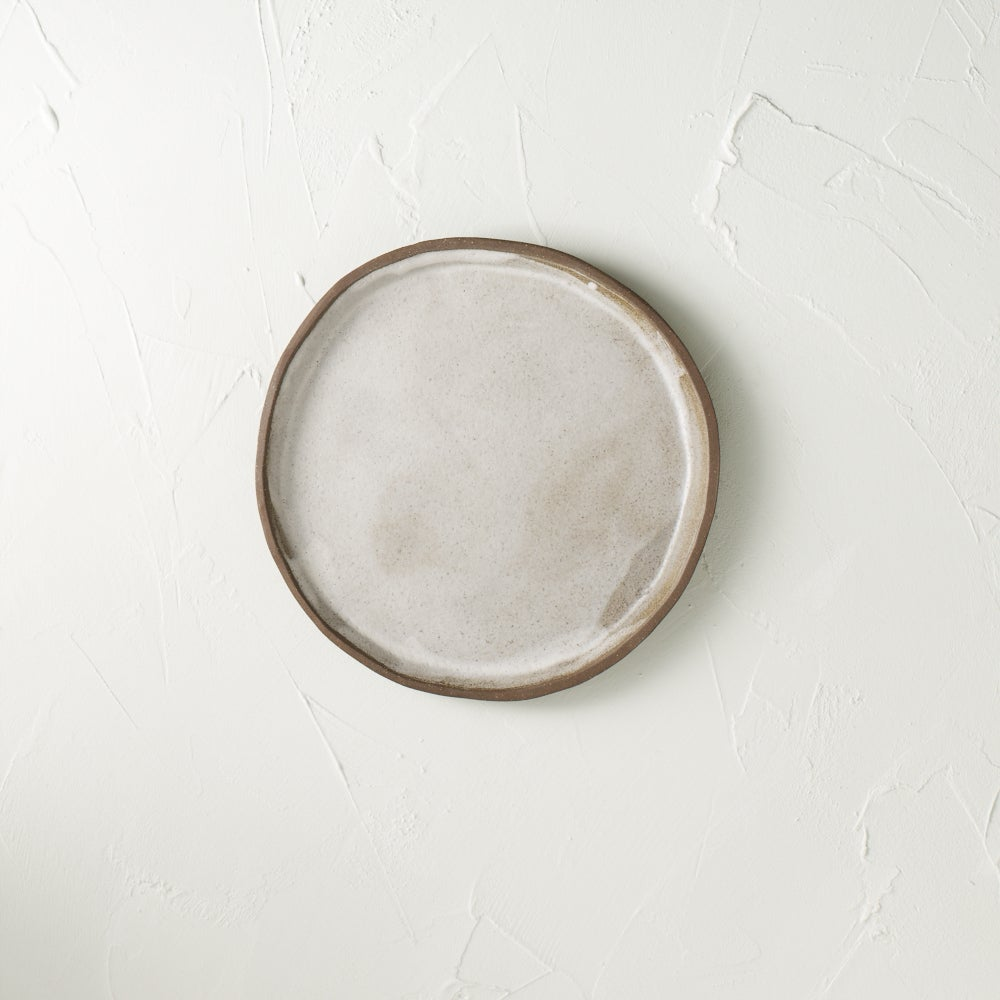 Image of Satin white dark chocolate plate