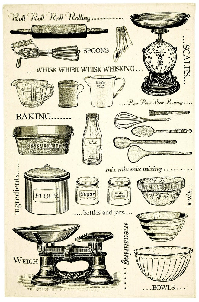 Image of Baking Tea Towel