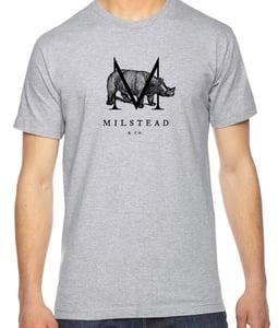 Image of Milstead & Co. Rhino Logo Shirt