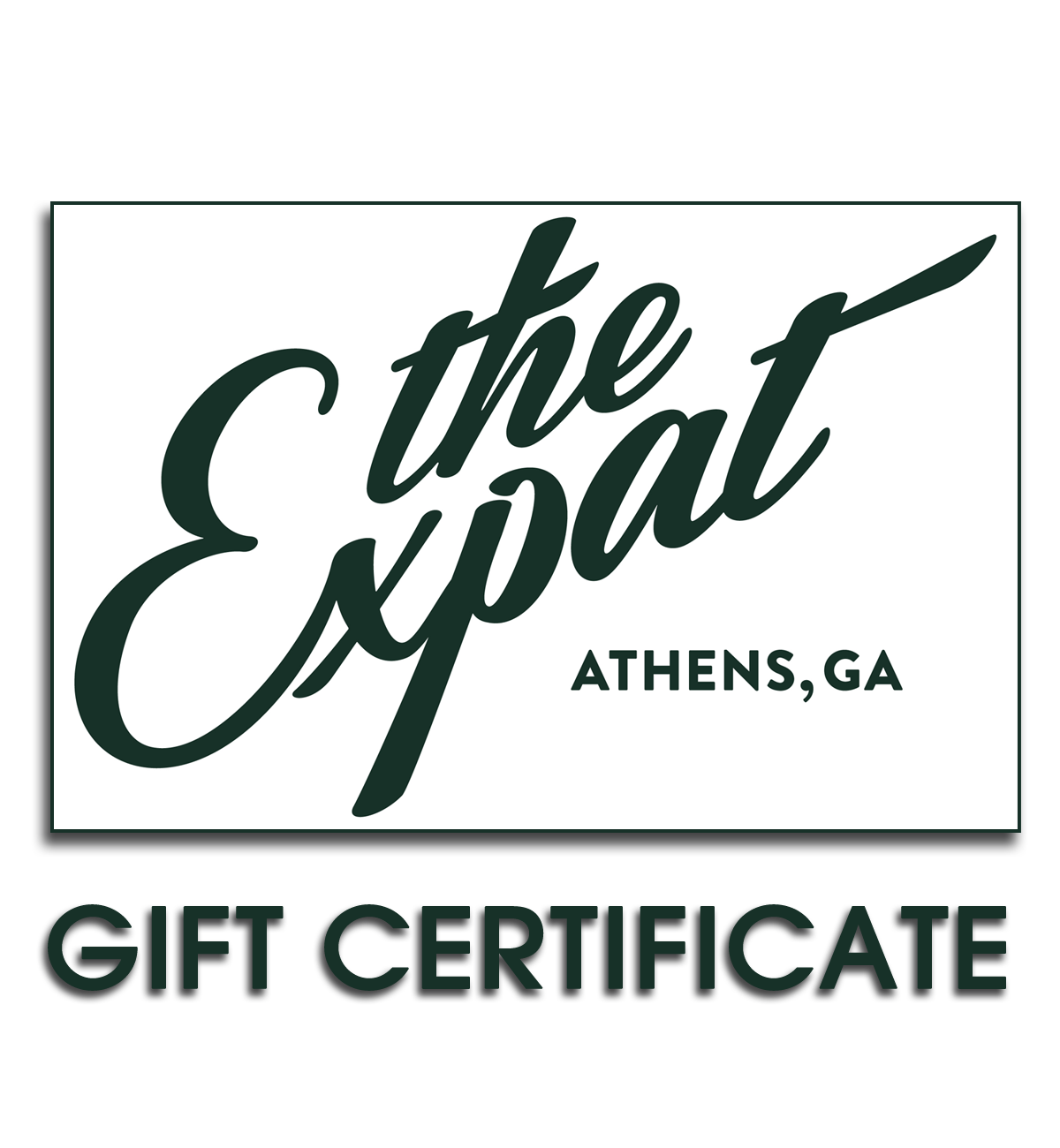 Image of Expat Gift Certificate