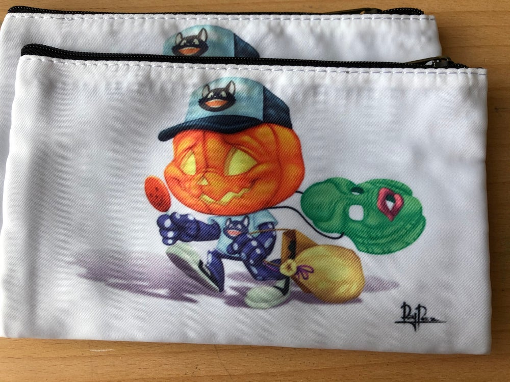 Willow at midsummer scream (4x7 zipper pouch)