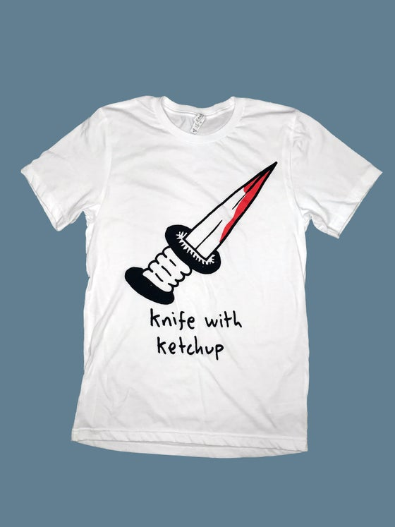 Image of KNIFE WITH KETCHUP T-SHIRT