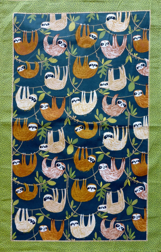 Image of Sloth Tea Towel