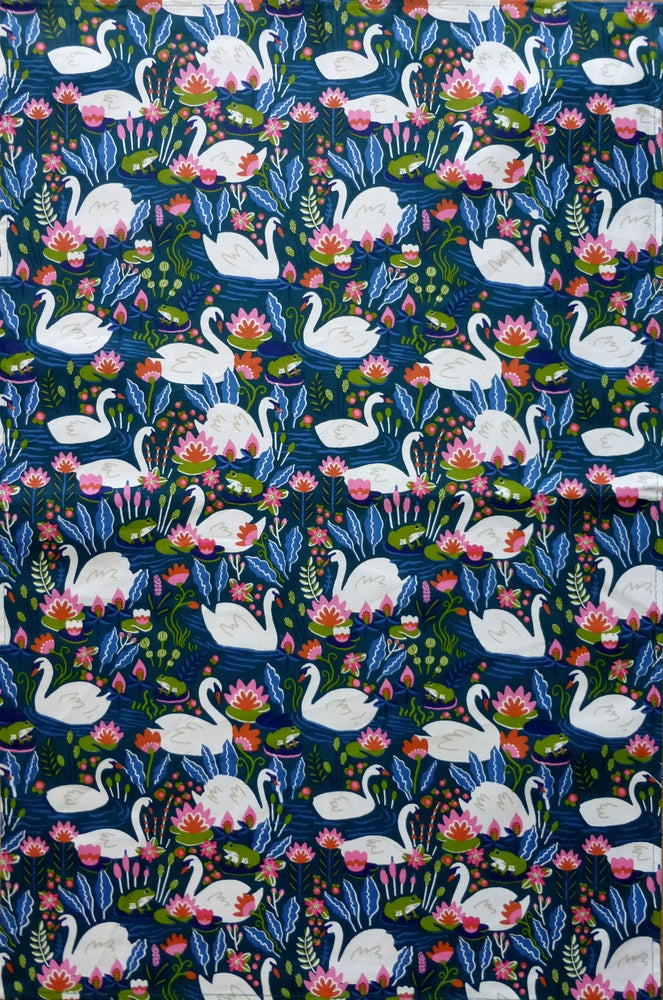 Image of Swan Tea Towel
