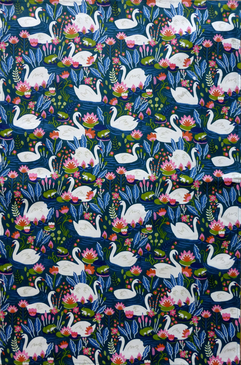 Image of Swan Tea Towel