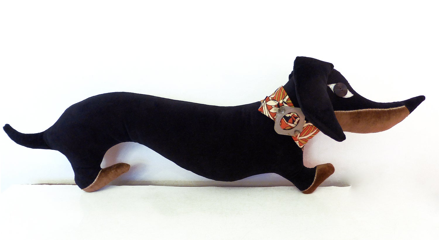 Image of Black & Tan Dachshund Cushion