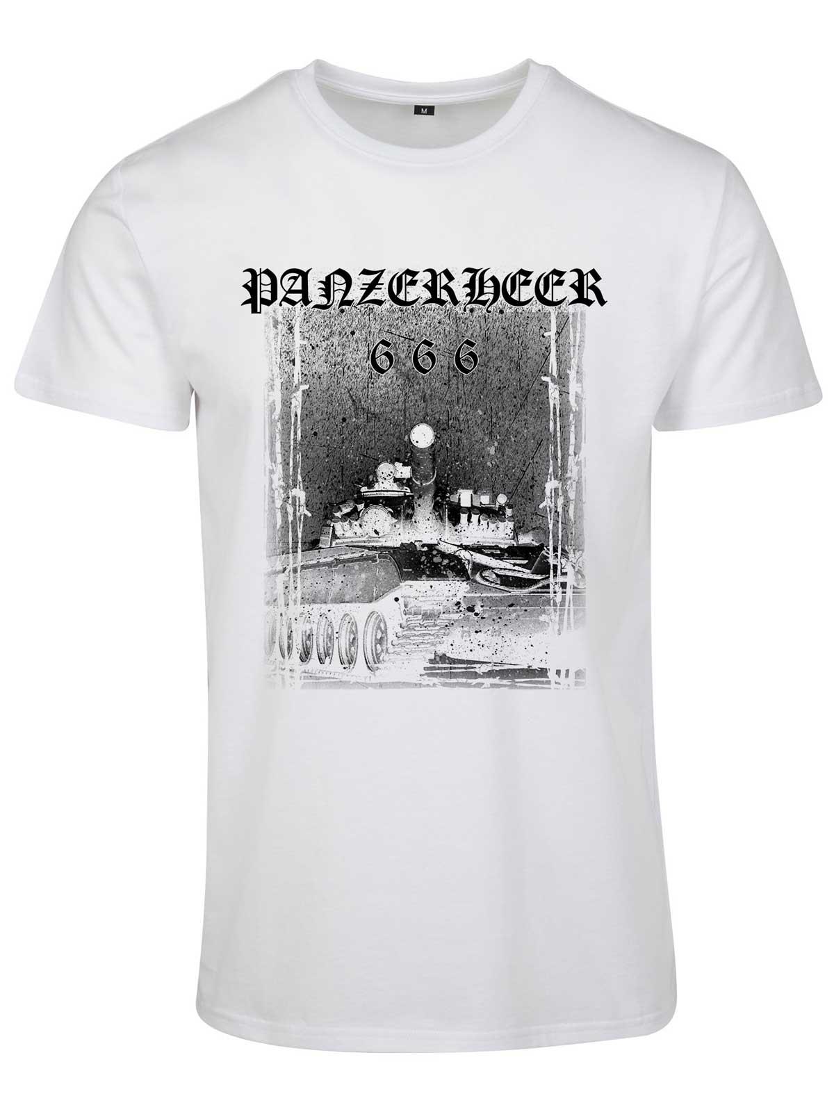 Panzerheer White Basic T-Shirt