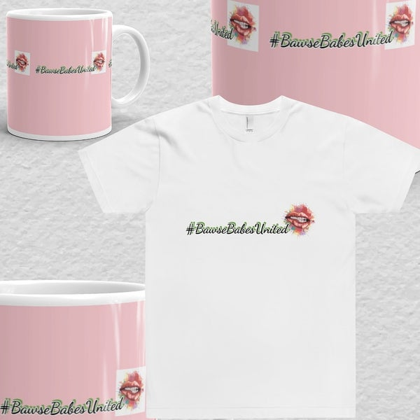 Image of BBU💋 T-Shirt & Coffee Mug Work From Home Gift Set