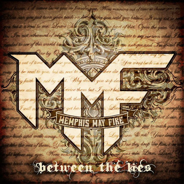 "Image of MEMPHIS MAY FIRE ""BETWEEN THE LIES"" CD EP"