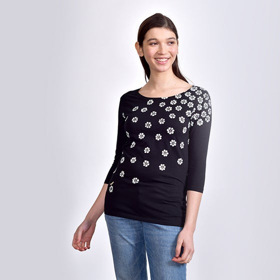 Image of BlackMeadow 3/4 Sleeved T