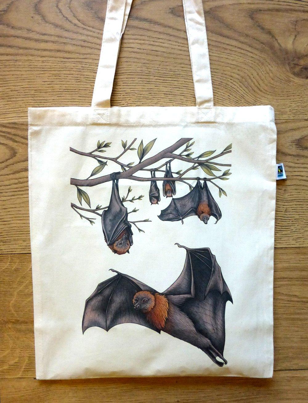 Image of Bats Tote Bag