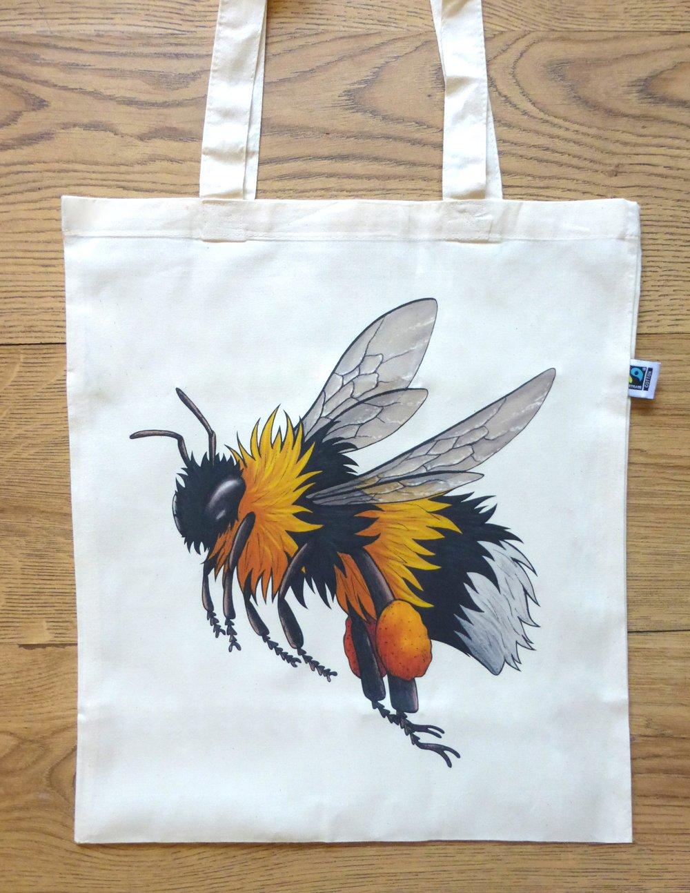 Image of Bumblebee Tote Bag