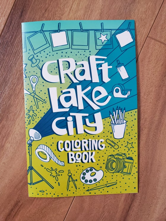 Image of Craft Lake City Coloring Book
