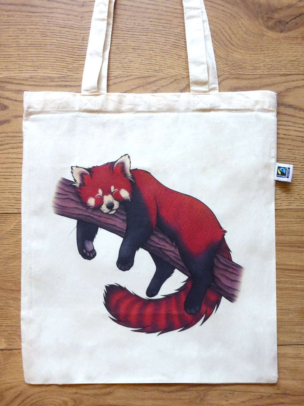 Image of Red Panda Tote Bag