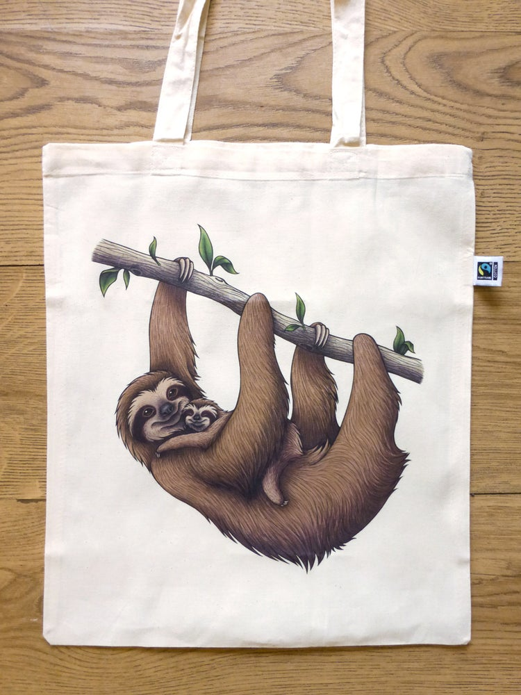 Image of Sloths Tote Bag