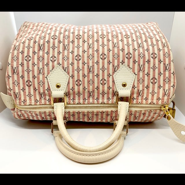 Image of Louis Vuitton Monogram Mini Lin Speedy 30