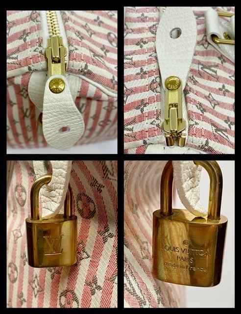 Image of Louis Vuitton Monogram Mini Lin Speedy 30
