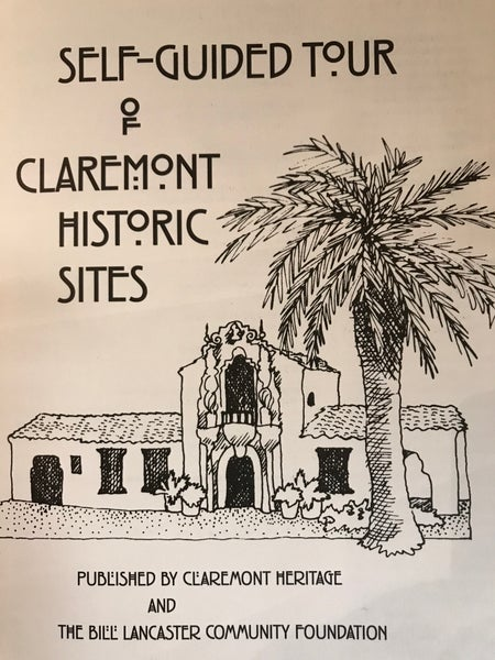Image of Self Guided Tour of Claremont Historic Sites