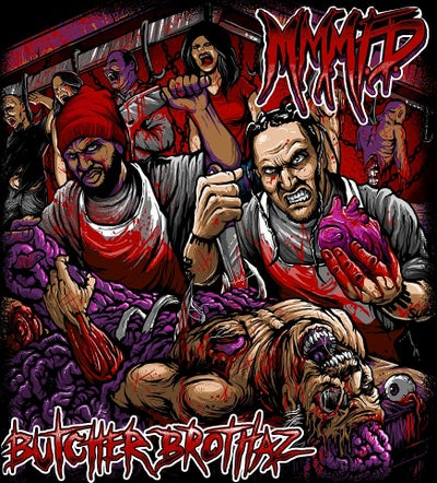Image of M.M.M.F.D : BUTCHER BROTHAZ   CD