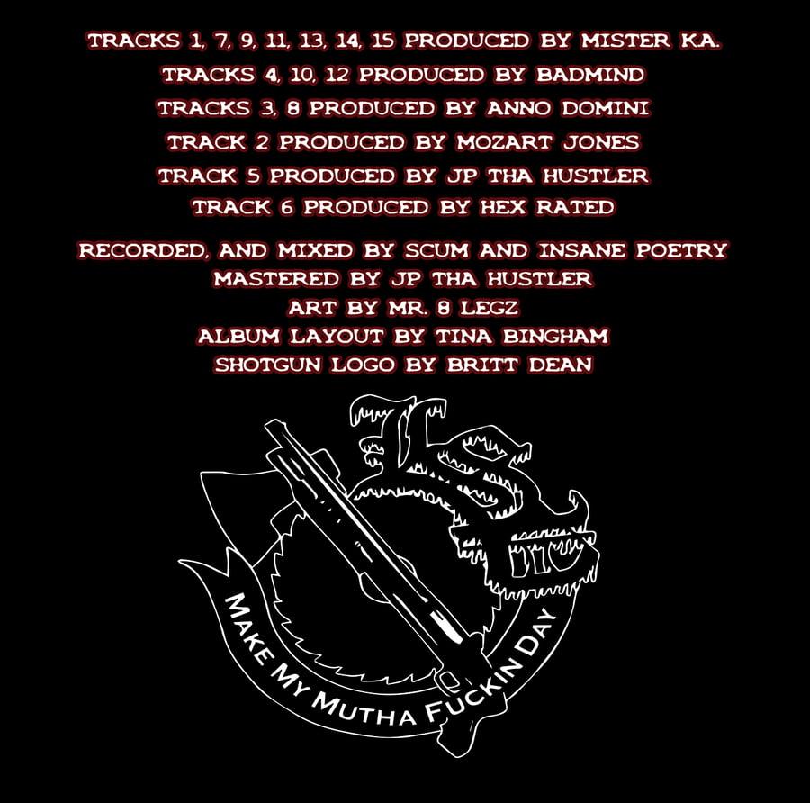 Image of M.M.M.F.D : BUTCHER BROTHAZ   CD